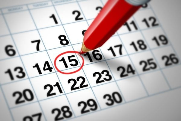 illustrasjon kalender