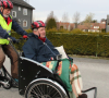 Person med MS i Rickshaw