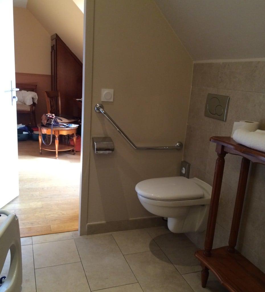 Rullestolvennlig hotell i Frankrike